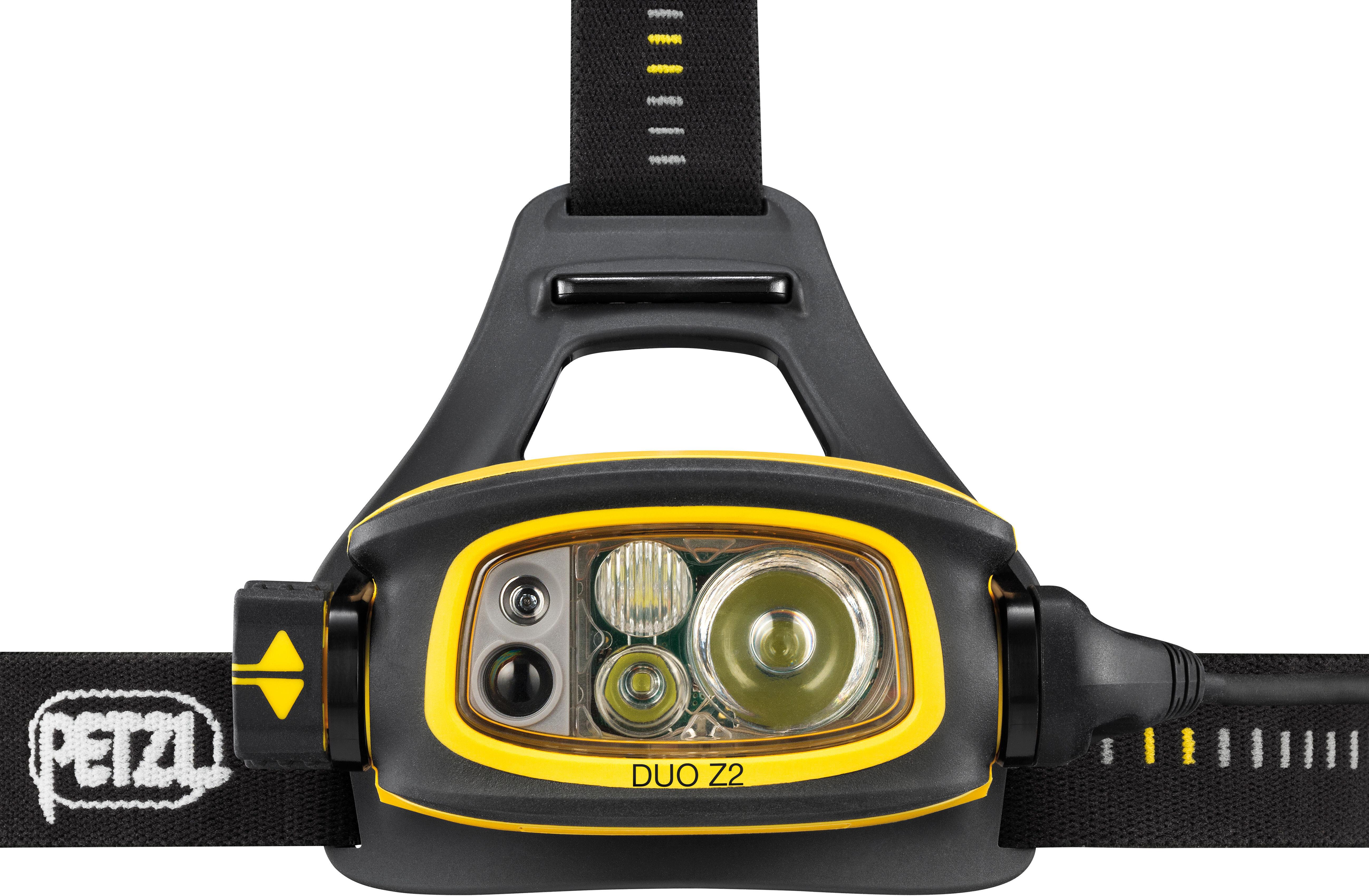 Petzl Duo Z2 - Linterna frontal - amarillo/negro | Bikester.es